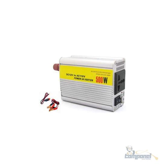 Inversor Conversor 500W De Potência 12V -110V